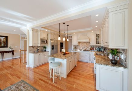Model Home - Gourmet kitchen at golf course condominiums