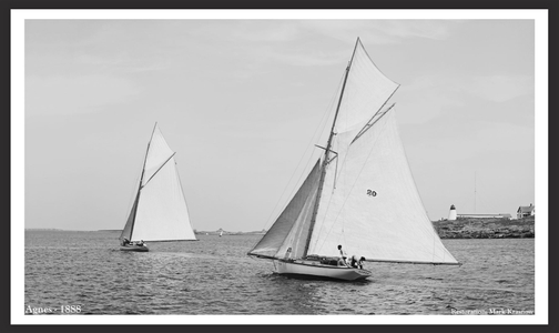 Vintage Sailing and Sailboats - Restoration art prints 1880's