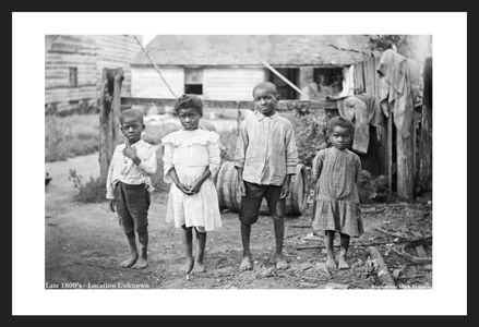 Children in the South - Late 1800's