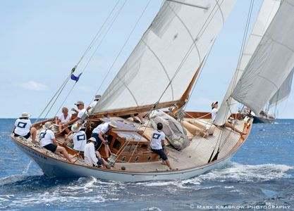 The Blue Peter Racing in Antigua