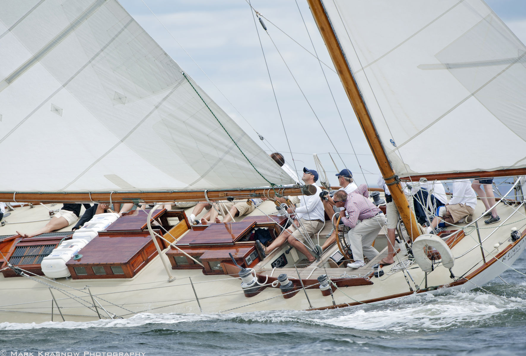 NY 40 Rugosa at the Herreshoff Classic Regatta in Bristol, RI
