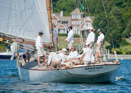 Spartan NY50 at the Museum of Yachting - IYRS Regatta in Newport, Rhode Island