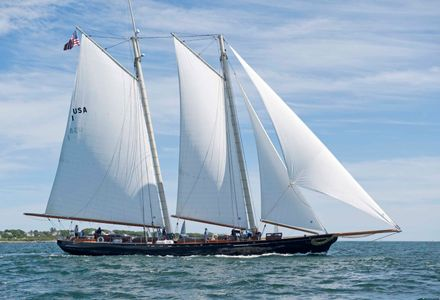 Schooner America at the Newport to Bermuda Start 2016
