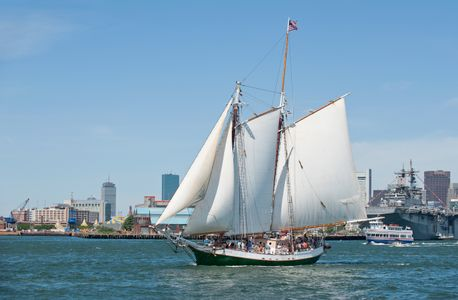 Schooner Liberty Clipper in Boston, MA