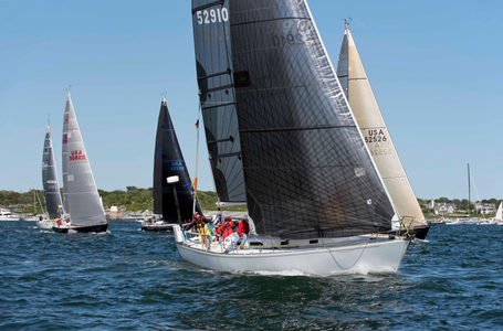 Milky Way, Finesse, Triple Lindy and Carina at the Newport to Bermuda Start 2016