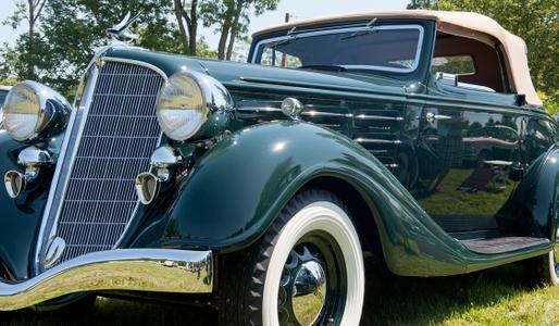 Hudson vintage automobile photoraphy art print