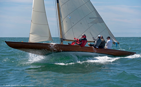 Classic Tilly XV 1912 at The Opera House Cup - Nantucket, MA  2016