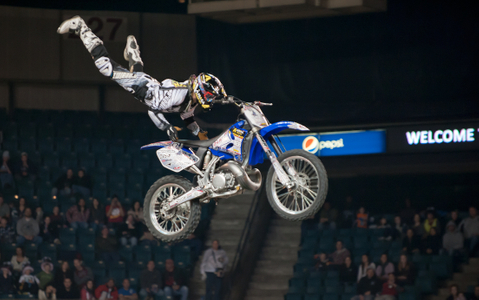 Freestyle Motocross racing - Boston, MA