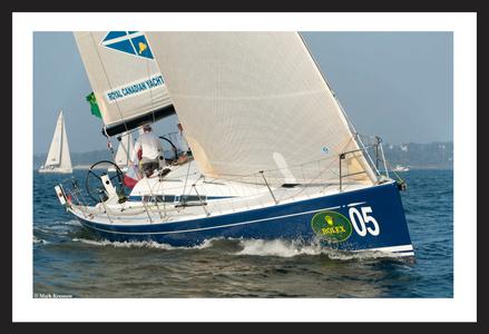 Royal Canadian Crew - New York Yacht Club Invitational Regatta in Newport, RI