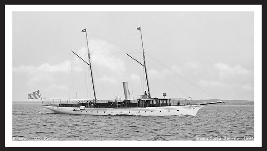 Vintage Steam Yachts - Photo Restoration Art Prints