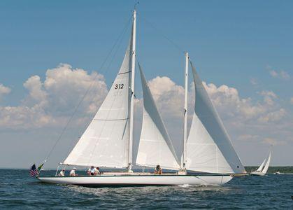 Schooner Fortune Racing in Newport, RI