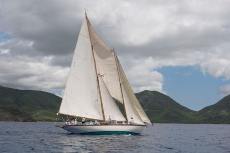 Schooner Mary Rose in Antigua 2016