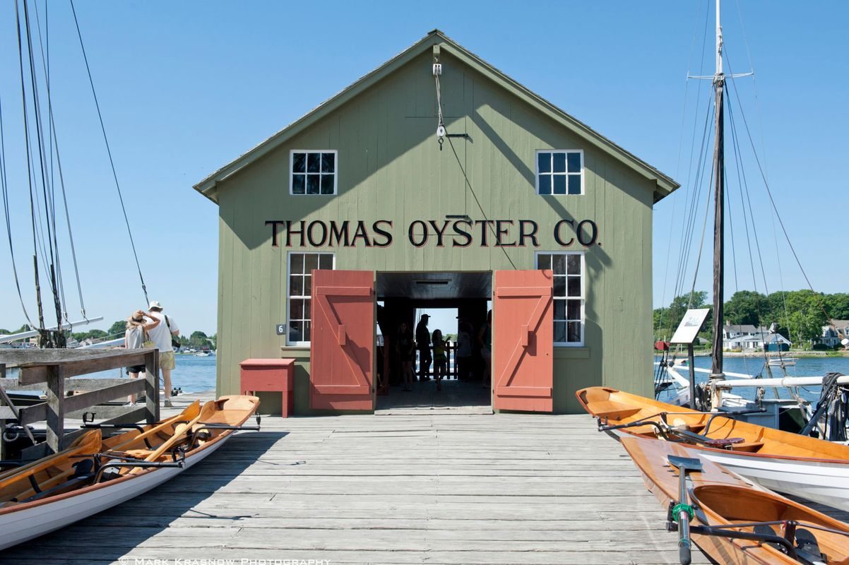 Thomas Oyster Co at Mystic Seaport
