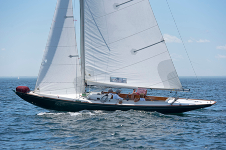 Sailboat One Design at the Corinthian Classic Marblehead, MA