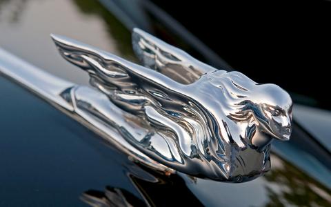 Cadillac Winged Hood Ornament art print