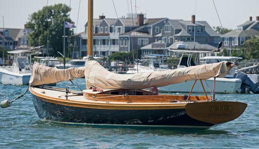 Java on her Mooring in Nantucket