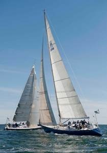 Salty Goose at the Newport to Bermuda Start 2016