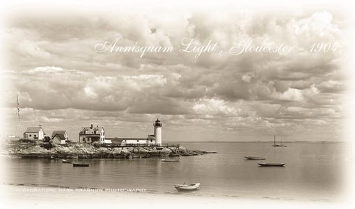 Annisquam Light - Gloucester, MA  Early 1900's
