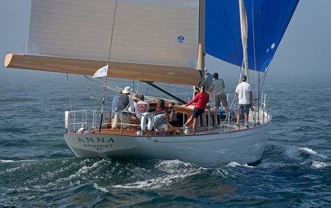 Anna - Stephens Waring Yacht Design & Lyman-Morse Boatbuilders