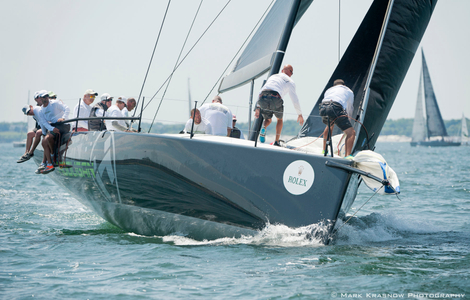Hooligan at the NYYC 161st Regatta Newport, RI