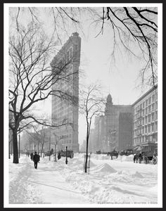 Flatiron Buiding - Winter - Early 1900's