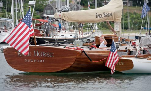 W-Class Yachts Race Horse and Colt at the Vineyard Cup 2016