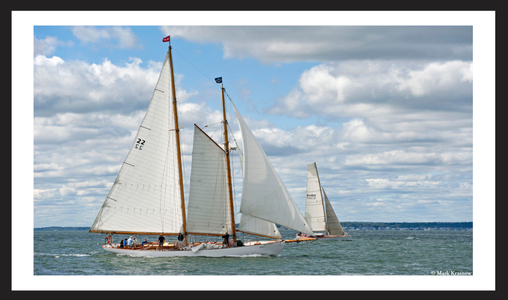 Schooner Brilliant of Mystic Connecticut - A Sparkman and Stephens Classic