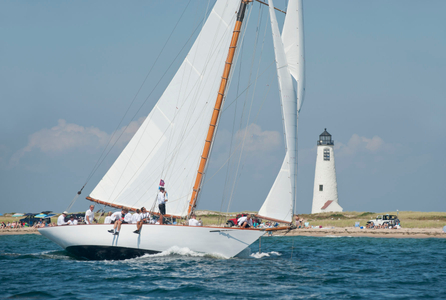 """Marilee"" NY40 at the Opera House Cup - Nantucket, MA 2015"