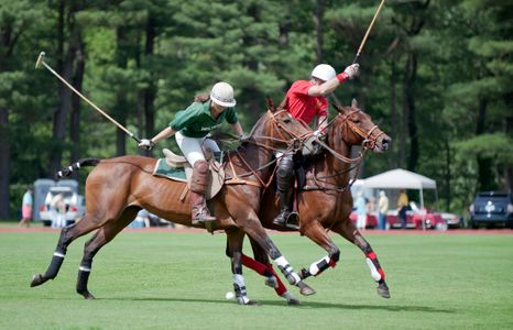 Polo match at Myopia Polo in Wenham