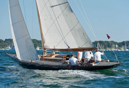 Q-Class Nor'easter at the Museum of Yachting -  IYRS Regatta