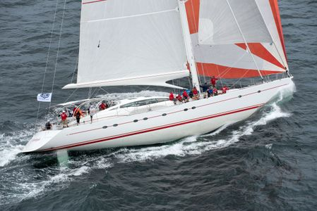Superyacht Sunleigh at the Candy Store Cup Newport, RI