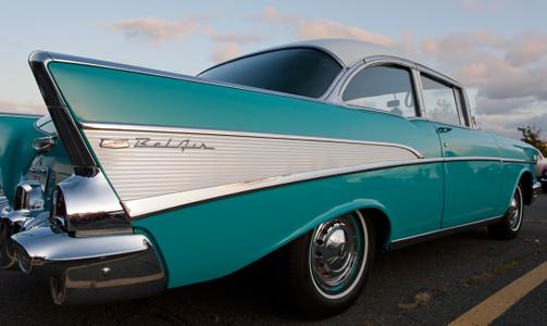 Chevy Bel Air Classic Car photography art print