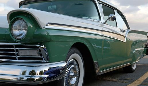 Ford Fairlane classic car photography art print