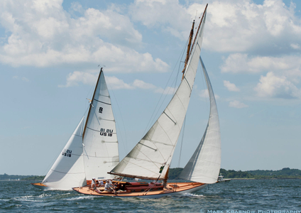 Angelita & Chips  at the NYYC Classic Regatta in Newport, RI