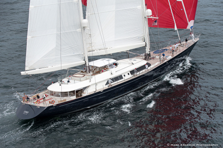 Superyacht Zenji  at the Candy Store Cup Newport, RI