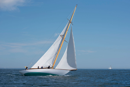 Classic Herreshoff Yacht Neith in Marblehead., MA