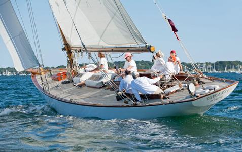 Neith at the Museum of Yachting - IYRS Regatta in Newport, RI