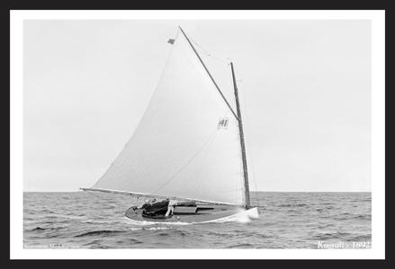 Koorali - 1892 - Vintage Sailing Restoration Art Print