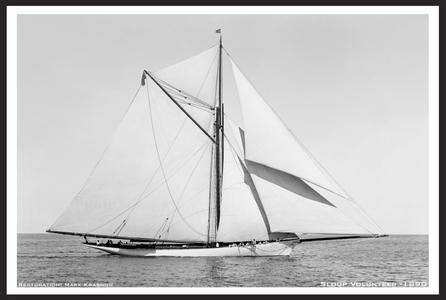 Vintage Sailboats - Vintage Sailing - 1890's