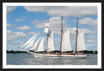 The Schooner Mystic New London Connecticut