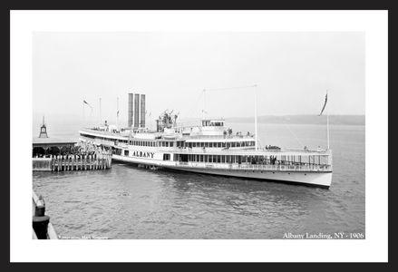 St. Albany, NY landing - 1906