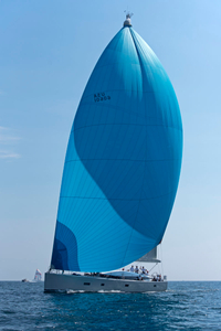 Superyacht Sapphire at the Candy Store Cup 2016