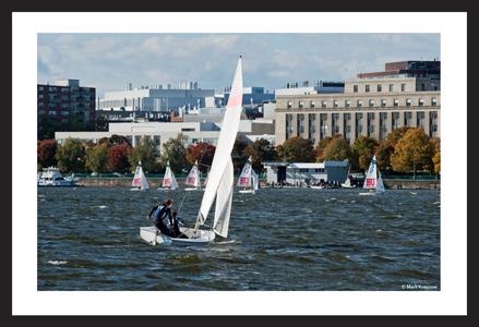 Boston University and 1 Boat from Harvard University Sail Team