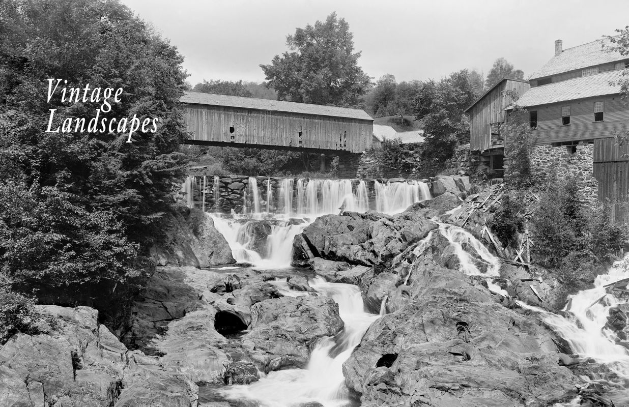 Brockway Gorge in Vermont - Early 1900's