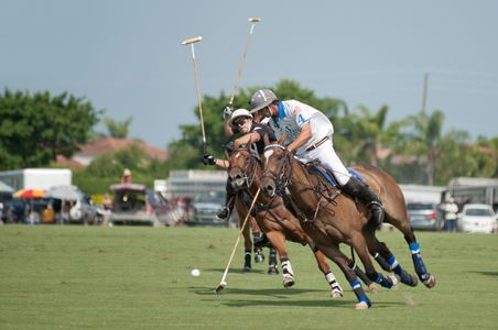 Polo match at the U.S. Open in Florida