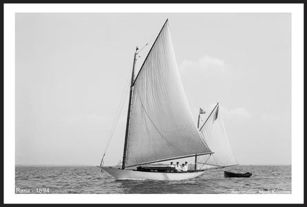 Classic Sailing and Sailboats Restoration art prints - 1894