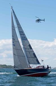 Yankee Girl at the Newport to Bermuda Start 2016