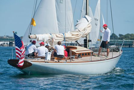 W-Class W.46 Nashua at the Museum of Yachting - IYRS Regatta in Newport, RI