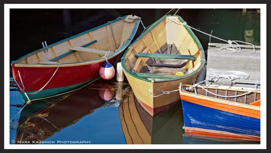 Dories in Gloucester