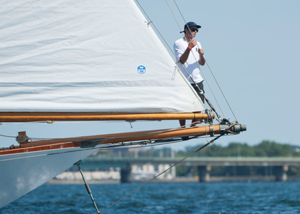 Marilee NY40 Bowman at the Museum of Yachting - IYRS Regatta in Newport, RI